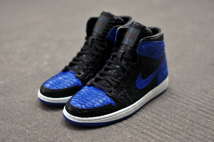 "Air Jordan 1 Royal Blue ""Python"""