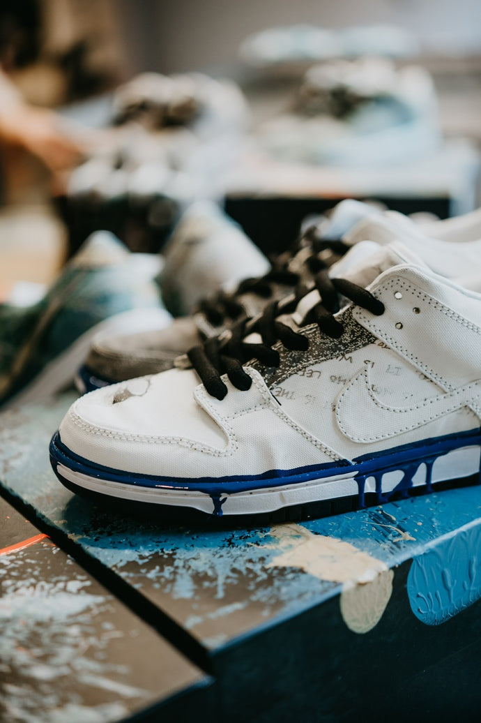 Wearable Art Vol. 1 - Dunk Lows with Demos Chiang's Painting