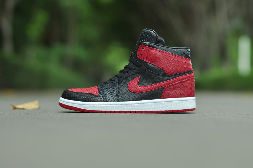 Jordan 1 Black & Red - The Remade