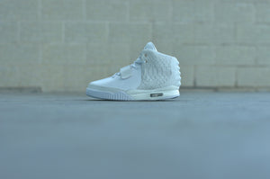 Nike Air Yeezy II Pure Money White