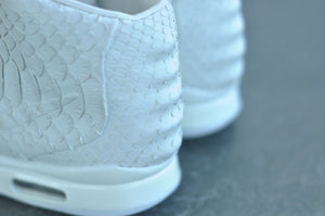 Nike Air Yeezy II Pure Money White - The Remade