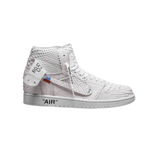 Structured All White 1's - The Remade