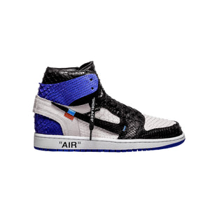 Structured Black Blue & Black 1's - The Remade