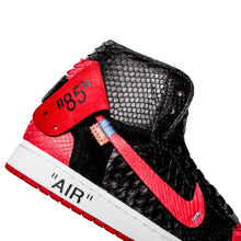 Structured Black & Red 1's - The Remade