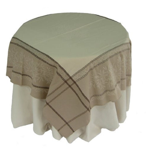 Olives Cotton Jacquard Tablecloth
