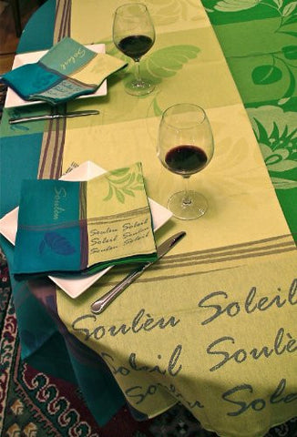 Soleou Cotton Jacquard Tablecloth