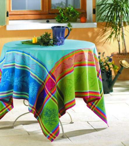 Cezanne Cotton Jacquard Tablecloth