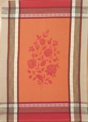 Arles Kitchen Towel - Red/Orange/Multi