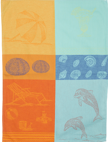 Summer Vacation Kitchen Towel