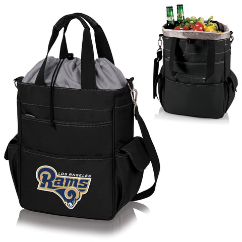 Los Angeles Rams Activo Cooler Tote in Black