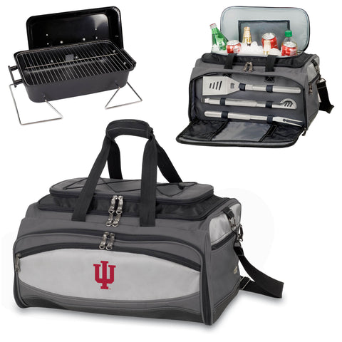 Indiana Hoosiers Buccaneer Portable BBQ and Cooler Tote