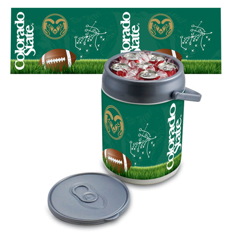 Colorado State Rams Can Cooler in Football Design