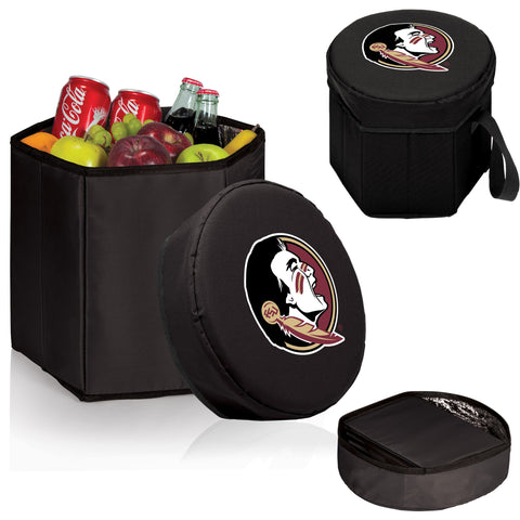 Florida State Seminoles Bongo Cooler in Black