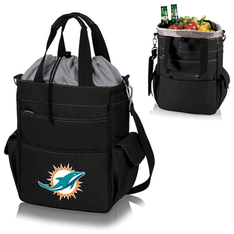 Miami Dolphins Activo Cooler Tote in Black