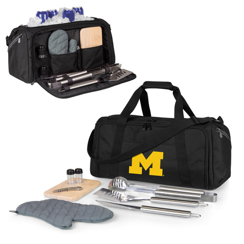 Michigan Wolverines BBQ Kit Cooler