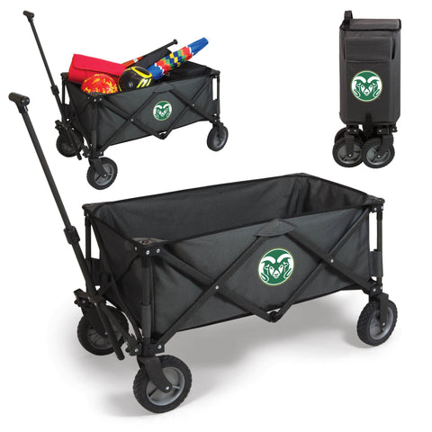 Colorado State Rams Adventure Wagon in Dark Grey