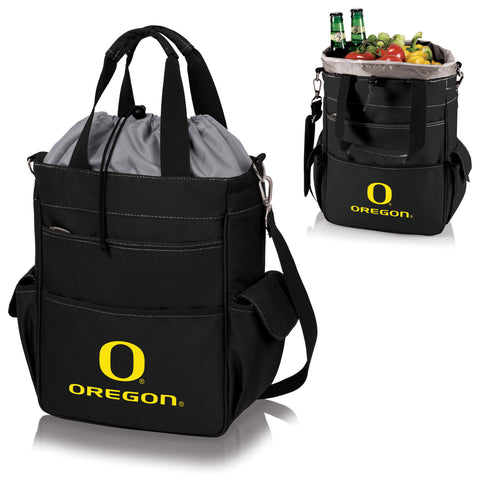 Oregon Ducks Activo Cooler Tote in Black