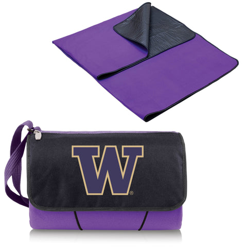 Washington Huskies Blanket Tote in Purple