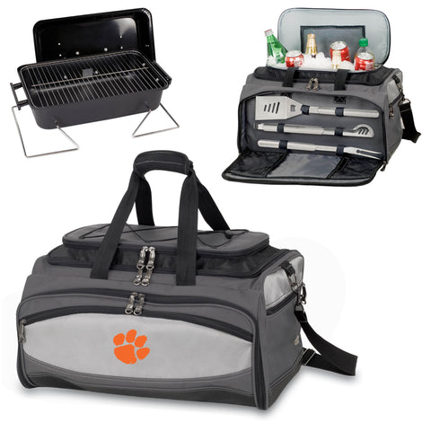 Clemson Tigers Buccaneer Portable BBQ and Cooler Tote