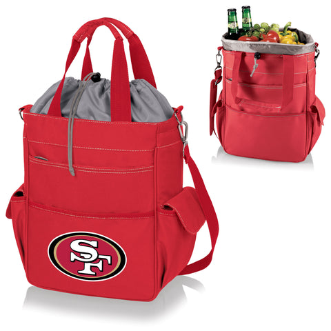 San Francisco 49ers Activo Cooler Tote in Red