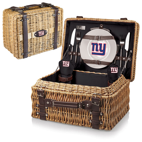 New York Giants Champion Picnic Basket in Black