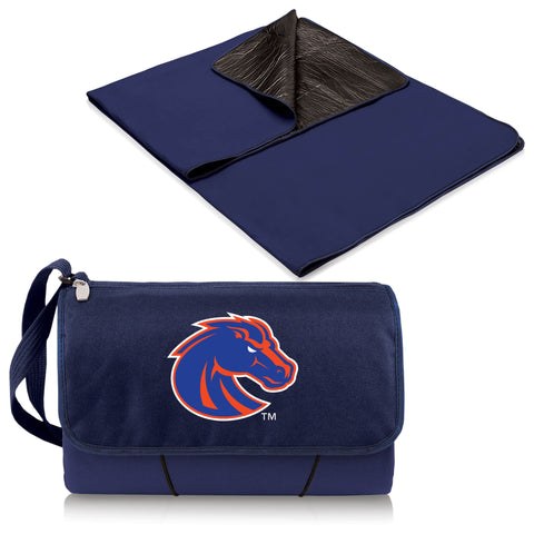 Boise State Broncos Blanket Tote in Navy