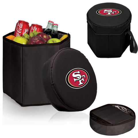 San Francisco 49ers Bongo Cooler in Black