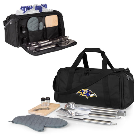 Baltimore Ravens BBQ Kit Cooler
