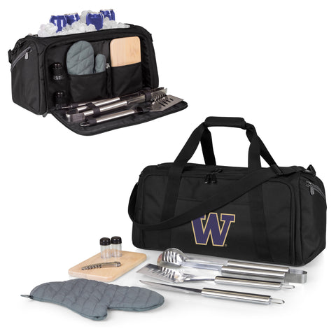 Washington Huskies BBQ Kit Cooler