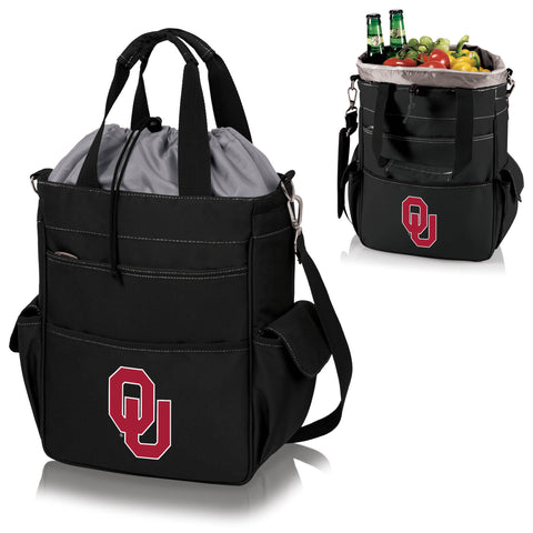 Oklahoma Sooners Activo Cooler Tote in Black