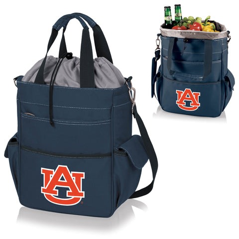 Auburn Tigers Activo Cooler Tote in Navy