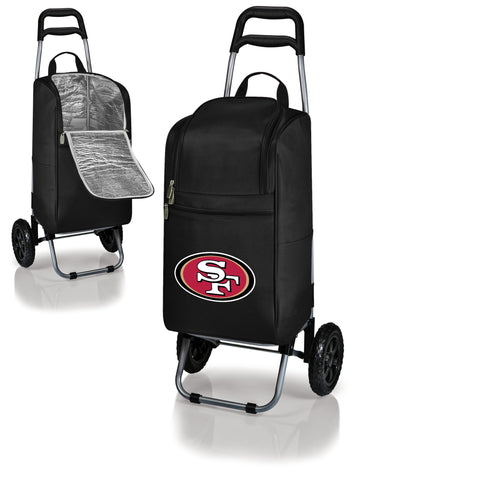 San Francisco 49ers Cart Cooler in Black
