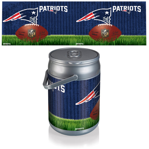 New England Patriots Can Cooler in Football Design