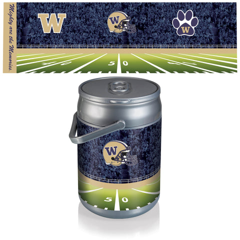 Washington Huskies Can Cooler in Football Design