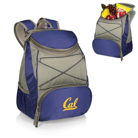 Cal Bears PTX Backpack Cooler in Navy
