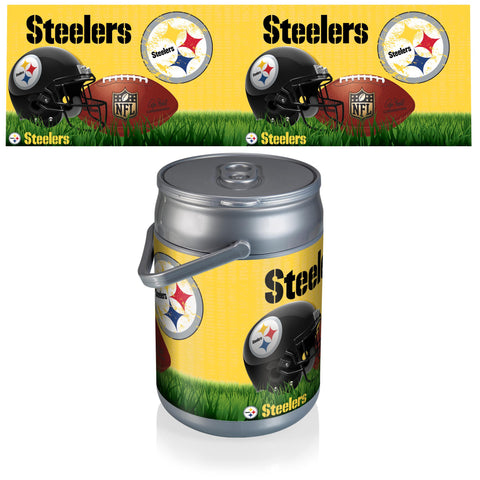 Pittsburgh Steelers Can Cooler in Football Design
