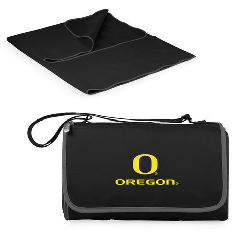 Oregon Ducks Blanket Tote in Black