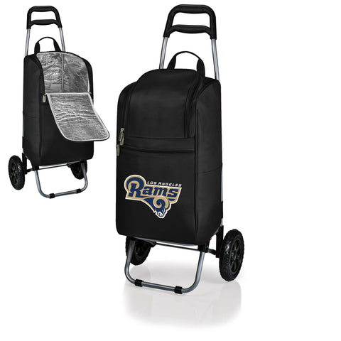 Los Angeles Rams Cart Cooler in Black
