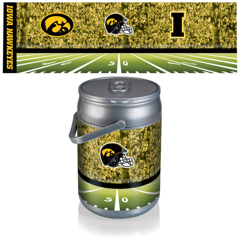 Iowa Hawkeyes Can Cooler in Football Design