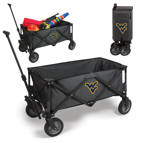 West Virginia Mountaineers Adventure Wagon in Dark Grey