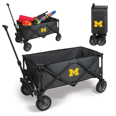 Michigan Wolverines Adventure Wagon in Dark Grey