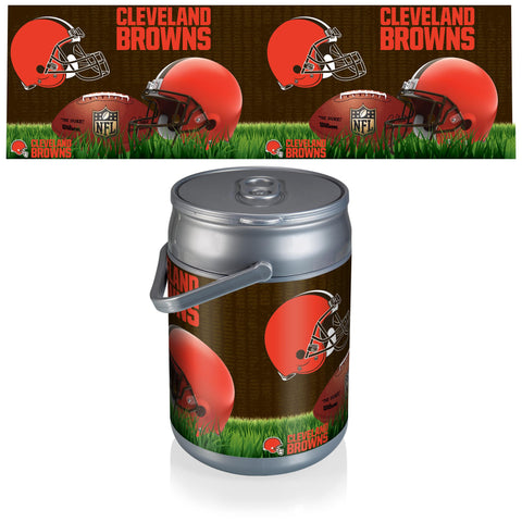 Cleveland Browns Can Cooler in Football Design