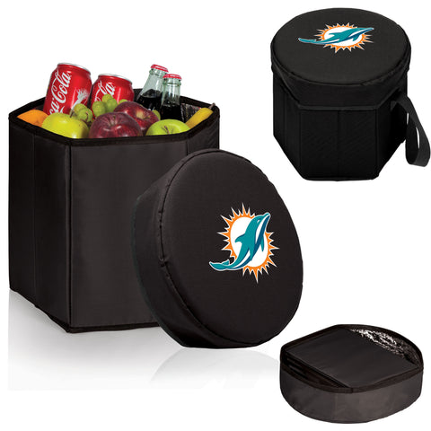 Miami Dolphins Bongo Cooler in Black