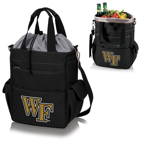 Wake Forest Demon Deacons Activo Cooler Tote in Black