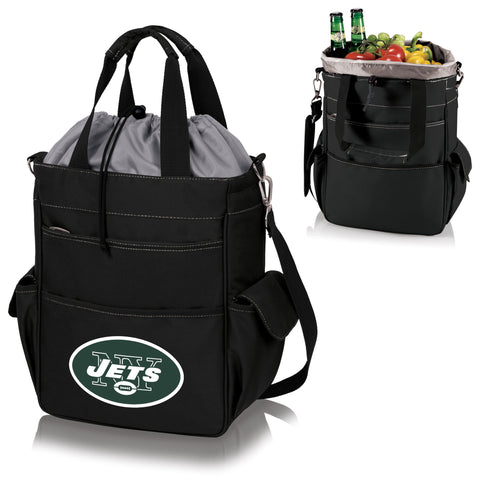 New York Jets Activo Cooler Tote in Black