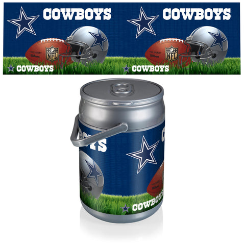 Dallas Cowboys Can Cooler in Football Design
