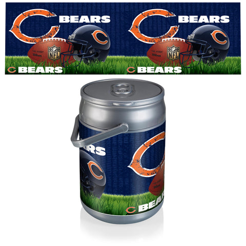 Chicago Bears Can Cooler in Football Design