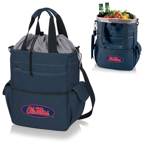 Ole Miss Rebels Activo Cooler Tote in Navy