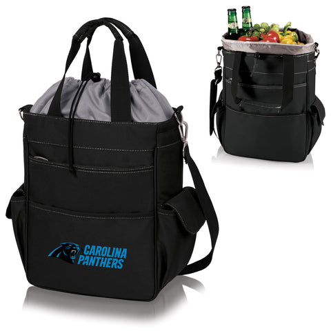 Carolina Panthers Activo Cooler Tote in Black