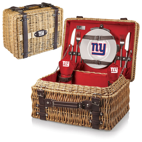 New York Giants Champion Picnic Basket in Red
